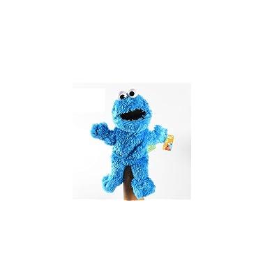 "Sesame Street Cookie Monster Plush Puppet 13"": Toys & Games"