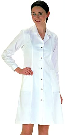 Workwear World Ladies Lab Work Doctors Medical White Coat: Amazon ...