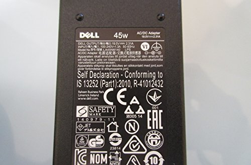 AC Power Adapter Charger 45W 19.5V for DELL Inspiron 15 7000 Series 7568 new genuine - Power 5100 Inspiron Adapter