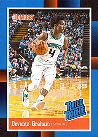 afb511c6e945 2018-19 Panini Instant  RR32 Devonte Graham Rated Rookie Basketball Card - 1988  Donruss