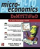 : Microeconomics Demystified: A Self-Teaching Guide