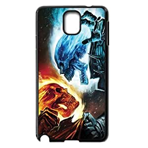UNI-BEE PHONE CASE For Samsung Galaxy Note 2 Case -Ghost Rider-CASE-STYLE 1