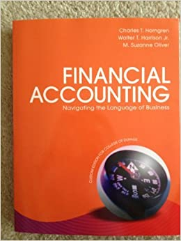 Financial Accounting (College of Dupage custom edition with Access code) by Charles Horngren (2013-05-04)
