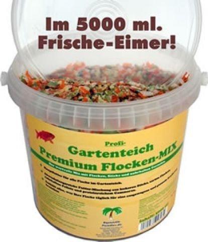 Profi Gartenteich Premium Teichflocken Mix 5.000 ml
