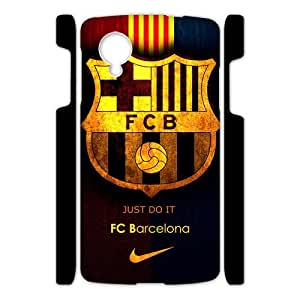 Fashion FC Barcelona Football Club Google Nexus 5 3D Cell Phone Cases Cover Popular Gifts