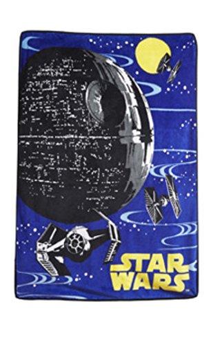 "Star Wars Galactic Rebellion Super Plush Throw Blanket - 46"" X 60"""