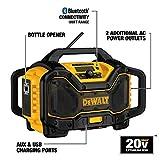 DEWALT DCR025 20V/60V MAX Bluetooth Radio Charger