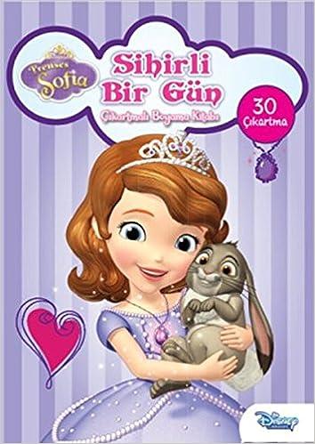 Disney Prenses Sofia Sihirli Bir Gun Cikartmali Boyama Kitabi