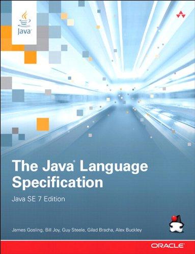 (The Java Language Specification, Java SE 7 Edition: Java Lang Spec Java SE 7 _4 (Java Series))
