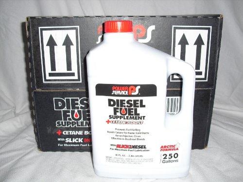 Power Service Products 1080 Diesel Fuel Supplement+Cetane Boost Diesel Fuel Anti-Gel, 80-oz. - Quantity 6