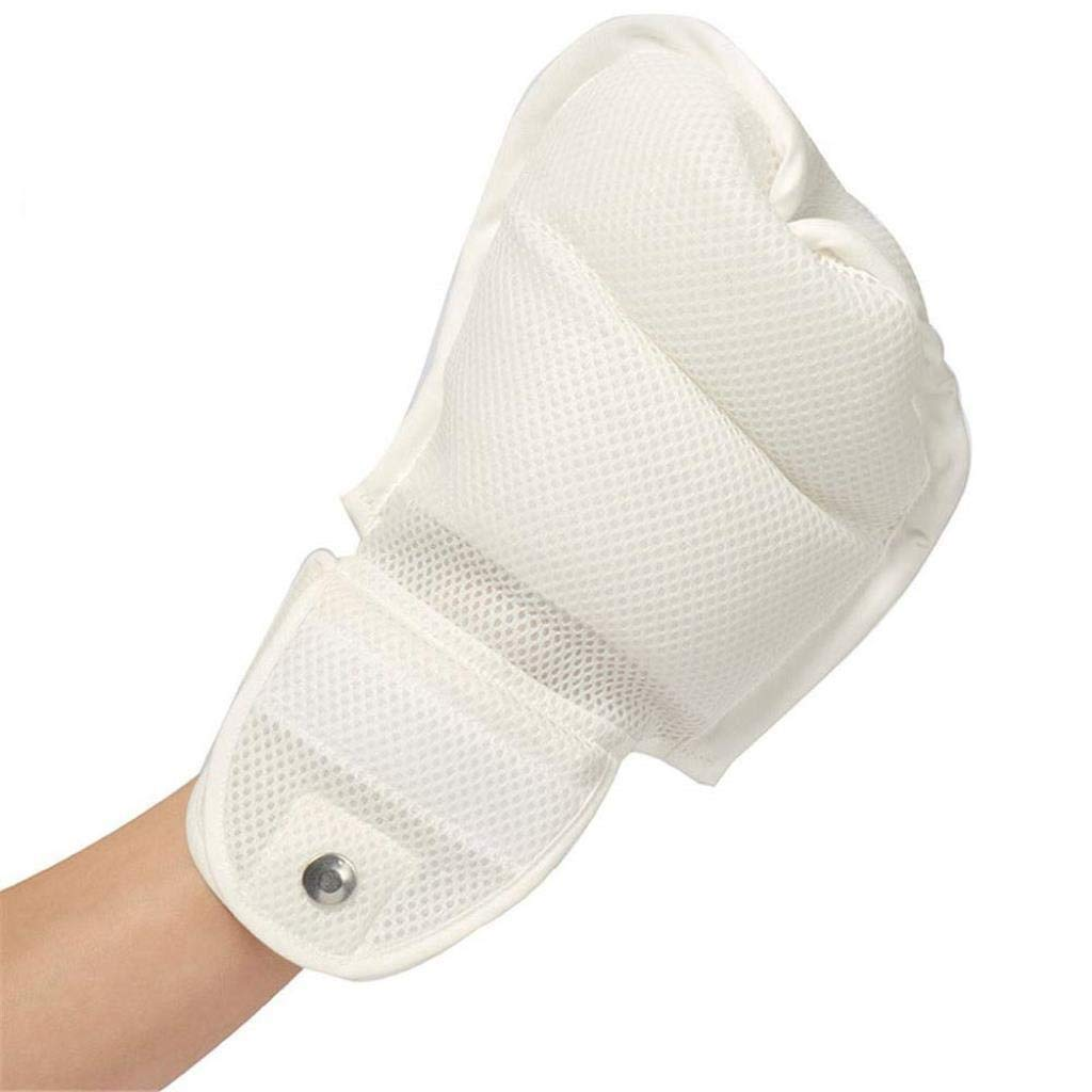 TTZ Finger Control Mitts, Dementia Gloves Safety Hand Glove-Patient Hand Infection Protectors Padded Mitts to Prevent Self Harm by TTZ