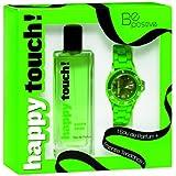 Happy Touch! Coffret Eau de Parfum Green Shine 50ml + Montre