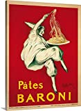 vintage advertisement - greatBIGcanvas Gallery-Wrapped Canvas entitled Pates Baroni, 1921 by Leonetto Cappiello 36