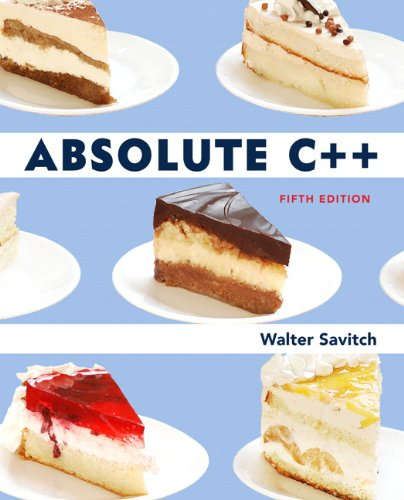Download Absolute C++ (5th Edition) Pdf