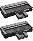 GLB Premium Quality Compatible Replacement for Ricoh 407259 / Type SP201LA Black Toner Cartridge For Ricoh Aficio SP201, SP203, SP204, SP213, SP214 Printers(2-Pack)