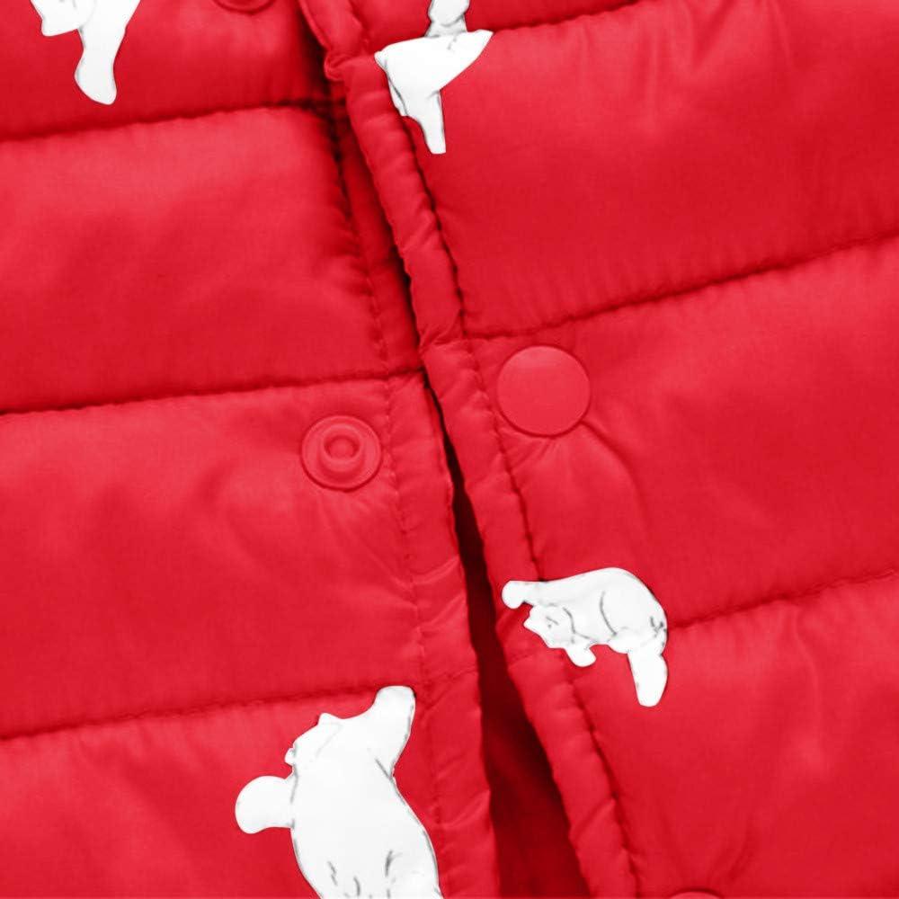 ThePass Kids Baby Girl Boy Winter Cat Cartoon Print Coat Cloak Jacket Thick Warm Outerwear Clothes