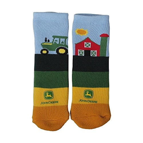 John Deere Infant/Toddler Farm Slipper Socks
