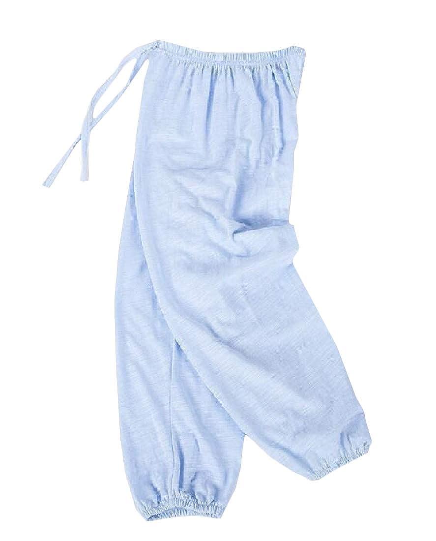 Pandapang Boy and Girl Summer Thin Pull-On Lantern Pants Jogging Pants