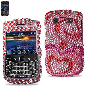 Reiko Diamante Carcasa para Blackberry 9020 atrapaondas/9700