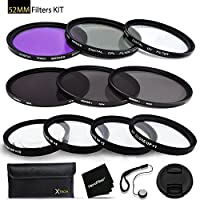 77mm Filters Set for 77mm Lenses and Cameras includes