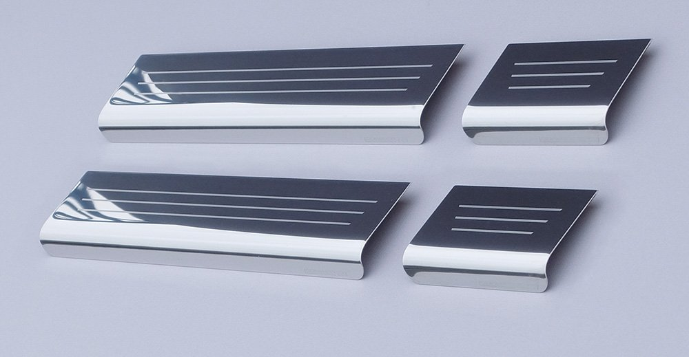 Astra 'K' Mk7 (released approx. 2015) 4 door Sill Protector Kick Plates Lockwood