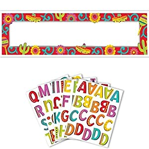 Festive Fiesta Personalized Giant Party Sign Banner, 150 Pieces, Made from Plastic, Any, by Amscan