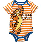 Disney Winnie the Pooh Tigger Baby Boys Bodysuit Dress Up Outfit (6-9 Months)