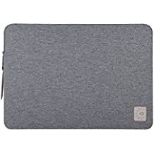 Comfyable Laptop Sleeve for 13 Inch New MacBook Pro 2016 & 2017- Waterproof Mac Cover Case- Dark Grey