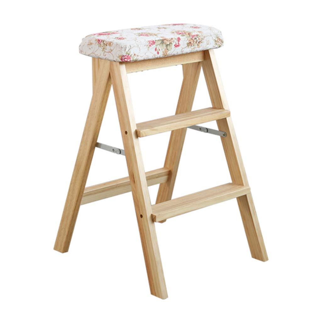 MYS C-K-P Holz Trittleiter Haushaltsküche Festen Stuhl Bench Lift Klappstuhl Stuhlfarbe optional B07H15JDCS | Won hoch geschätzt und weithin vertraut im in- und Ausland vertraut