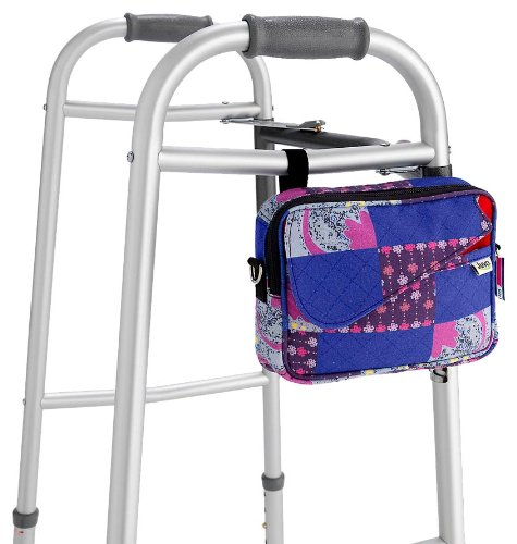 Juvo Products WB301 Personal Walker Tote, Multi-Color, Bags Central