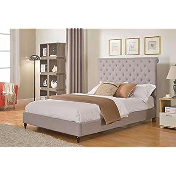 grey velvet gray super queen light upholstered fabric king headboard