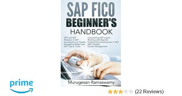 Amazon com: SAP FICO Beginner's Hand Book: Your SAP User