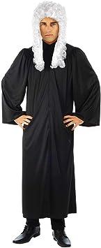 Fun Shack Negro Toga De Juez Disfraz para Hombres y Mujeres ...
