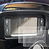 2) 2014-2018 Compatible with Harley Davidson Road Glide Boom! Box Motorcycle Screen Saver 2pc Custom Fit Invisible High Clarity Touch Display Protector Minimizes Prints 6.5 Inch