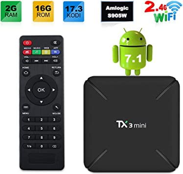 Sofobod TX3 MINI 7.1 Smart TV BOX 2GB/16GB 4K TV Amlogic S905W ...