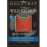 Ducktrap, Smoked Wild Sockeye Salmon, 4 oz