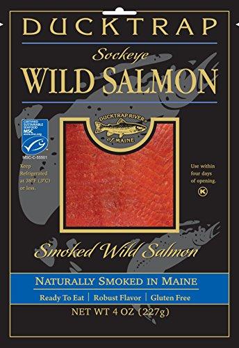 Ducktrap, Smoked Wild Sockeye Salmon, 4 oz ()