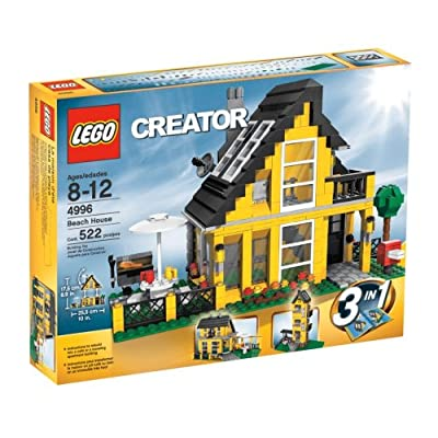LEGO Creator Beach House (4996): Toys & Games