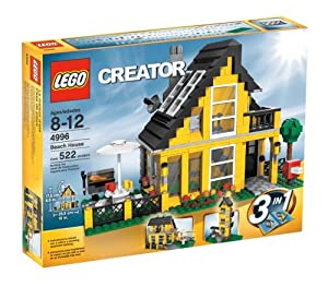 Amazon.com: LEGO Creator Beach House (4996): Toys & Games