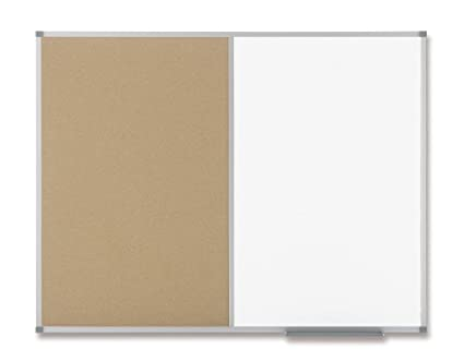 Nobo Classic 538367 - Pizarra combinada de superficie magnética y ...