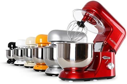 Klarstein TK2-Mix8-R Bella Rossa - Robot de cocina, 1200W, 5L ...