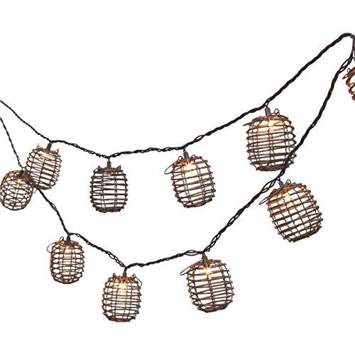 Bamboo Patio Lights String - 7