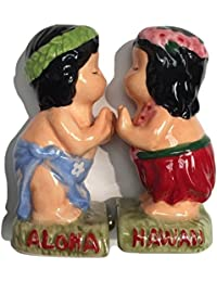 Get Salt And Pepper Shakers Collection Hula Boy/Girl Play Ukulele cheapest