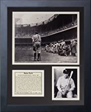 Legends Never Die Babe Ruth Farewell Framed Photo Collage, 11x14-Inch