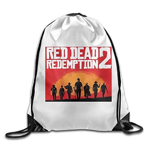 Morello Costume (DEMOO Red Dead Redemption POSTER Drawstring Backpack / Sack Bag)