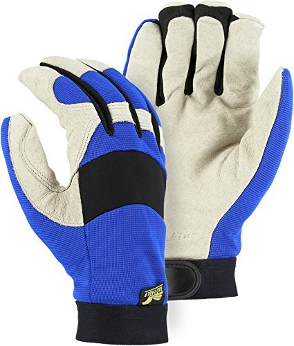 Majestic 2152TW Bald Eagle Thinsulate Lined Pigskin Mechanics Gloves Waterproof (XX-Large)