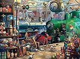 Ceaco Seek & Find Train Station Puzzle - 1000Piece