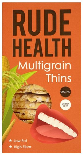 Rude Health Multigrain Thins Organic 160 g (Pack of 5) (Rude Thin)