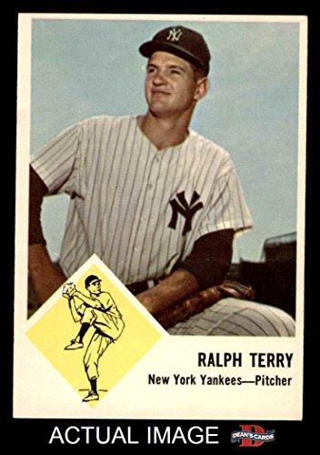 1963 Fleer # 26 Ralph Terry New York Yankees (Baseball Ca...