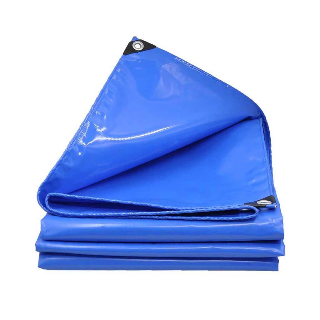 Hochfeste Plane, im Freien verdicktes PVC-Regenschutztuch Sunscreen Shade Regenschutz Plane Plane Plane Baldachin Tuch 600g   m2